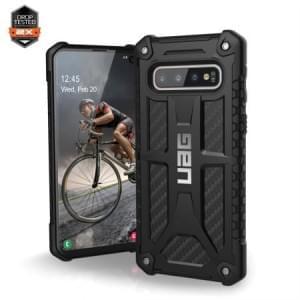 Urban Armor Gear Monarch Case / Cover / Hülle Samsung Galaxy S10 Carbon