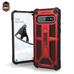 Urban Armor Gear Monarch Case / Cover / Hülle Samsung Galaxy S10 crimson rot