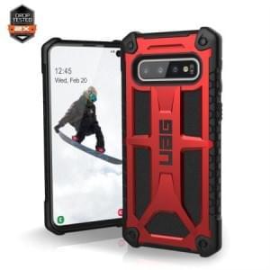 Urban Armor Gear Monarch Case / Cover / Hülle Samsung Galaxy S10 crimson rot