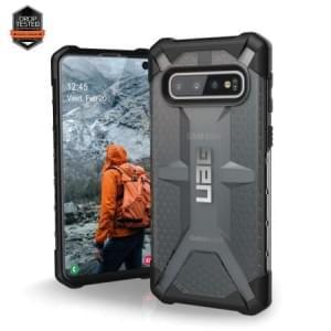 Urban Armor Gear Plasma Case / Cover / Hülle Samsung Galaxy S10 Ash Grau Transparent