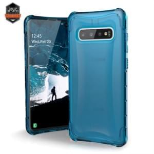 Urban Armor Gear Plyo Case / Cover / Hülle Samsung Galaxy S10 glacier blau transparent