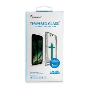 Premium Displayschutzglas mit Schablone für iPhone XR