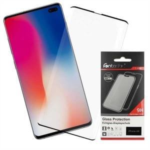 Premium Glas Folie 3D curve für Samsung Galaxy S10+ Plus Rand zu Rand
