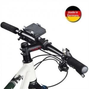 HR Fahrrad / Motorrad Smartphone Halter Set Dual für Gerätebreite von 58- 84 mm (Made in Germany)