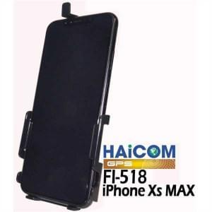 Haicom Halteschale für iPhone XS Max Schwarz