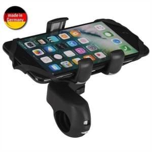 HR Fahrrad / Motorrad Halter Quicky xtra Bike Mount 13 Lenker für Smartphones von 64 - 92 mm Breite