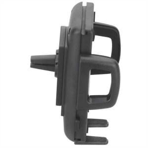 HR Kfz Halterung KIT Lüftungslamellen für Geräte von 56 - 85 mm schwarz