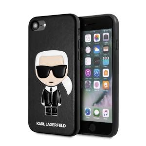 Karl Lagerfeld iPhone SE 2020 / 8 / 7 Karl Embossed Ikonik Hülle Schwarz