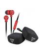 Guess Headset Bundle Pack 3,5mm Klinke + Bluetooth Lautsprecher rot