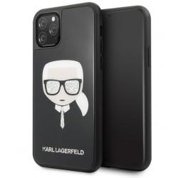 Karl Lagerfeld Iconic Signature Hülle iPhone 11 Pro Max Schwarz KLHCN65DLHBK