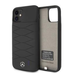 Mercedes-Benz iPhone 11 Power-Case Silicone 3600mAh Schwarz