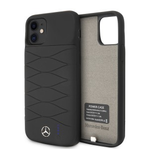Mercedes-Benz iPhone 11 Power-Case Silicone 3600mAh Schwarz