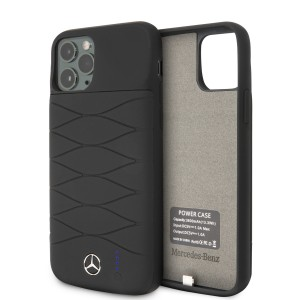 Mercedes-Benz iPhone 11 Pro Power-Case Silicone 3600mAh Schwarz