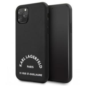 Karl Lagerfeld Hülle 21 Rue St Guillaume iPhone 11 Pro Max Schwarz KLHCN65NYBK