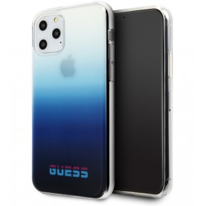Guess Gradient California Hülle iPhone 11 Pro Blau GUHCN58DGCNA