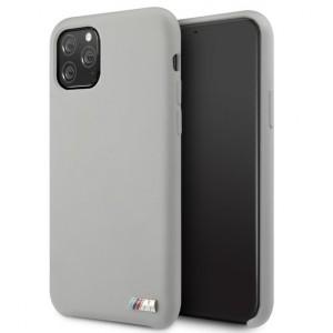 BMW M Serie Silikon Hülle iPhone 11 Grau BMHCN61MSILGR