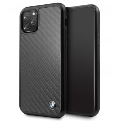 BMW Real Carbon Schutzhülle iPhone 11 Pro Max Schwarz BMHCN65MBC
