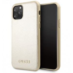 Guess Hülle Iridescent Kollektion iPhone 11 Pro Gold GUHCN58IGLGO