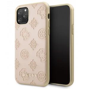 Guess Lederhülle 4G Peony Kollektion iPhone 11 Rose GUHCN61PELLP