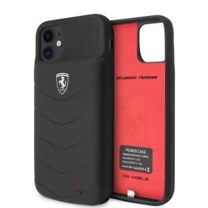 Ferrari iPhone 11 Power-Case Silicone 4000mAh Schwarz