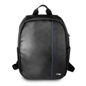"""BMW Laptop / Notebook Rucksack M Navy Stripe 15"""" schwarz"""