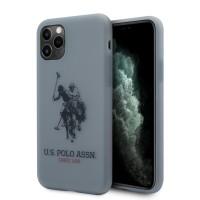 US Polo iPhone 11 Pro Hülle Polo Type Blau