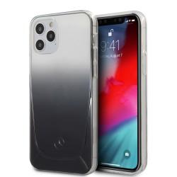 Mercedes iPhone 12 / 12 Pro 6,1 Hülle Transparent Schwarz