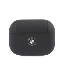 BMW AirPods Pro Echtleder Cover Hülle Case blau