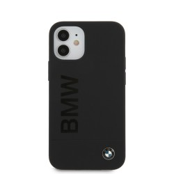 BMW iPhone 12 mini 5,4 Silicone Signature Cover / Case / Hülle schwarz