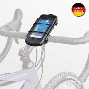 HR Biker Spritzschutzbox KIT S mit Bike Mount 10 + QuickFix für Geräte bis 128 x 65 x 12 mm