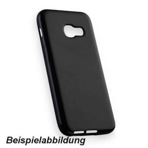 TPU Hülle Tasche für Samsung Galaxy A7 (2018) schwarz