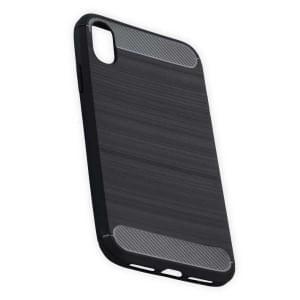 Hybrid TPU Case Handyhülle im Carbon Look für iPhone XR