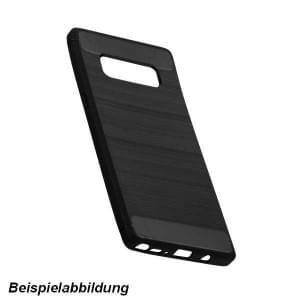 Hybrid TPU Case Handyhülle im Carbon Look für Samsung Galaxy S10e