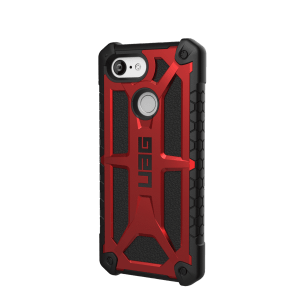 Urban Armor Gear Monarch Schutzhülle | für Google Pixel 3 | crimson rot