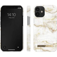 iDeal of Sweden iPhone 12 mini Case Golden Pearl Marble