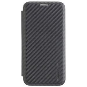 COMMANDER Smart Tasche NOBLESSE Carbon Style für Samsung Galaxy S10e schwarz