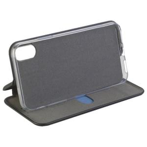 COMMANDER Tasche Book Case CURVE für Apple iPhone X / XS Schwarz