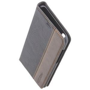 COMMANDER Handytasche BOOK CASE für Huawei P20 Pro Gentle Black
