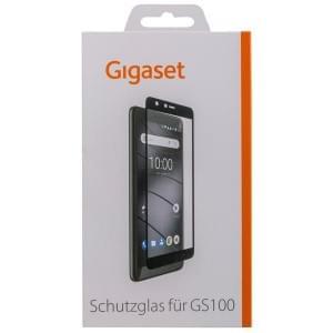 GIGASET FULL DISPLAY HD Schutzglas für Gigaset GS100 Frame Schwarz