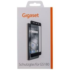 GIGASET FULL DISPLAY HD Schutzglas für Gigaset GS180 Frame Schwarz