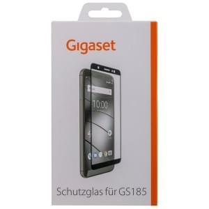 GIGASET FULL DISPLAY HD Schutzglas für Gigaset GS185 Frame Schwarz