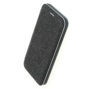 COMMANDER BOOK Tasche ELEGANT für iPhone XR - Grau