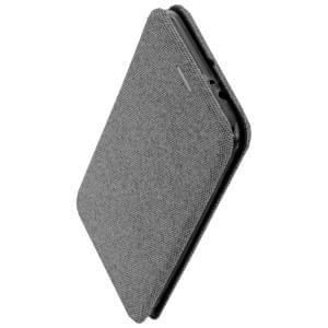 COMMANDER Book Case / Tasche CURVE für LG K9 Elegant Grau