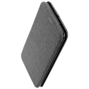 COMMANDER Book Case / Tasche CURVE für LG K11 Elegant Grau