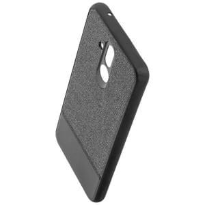 COMMANDER Back Cover / Schutzhülle NOBLE PLUS für Huawei Mate 20 Lite Schwarz