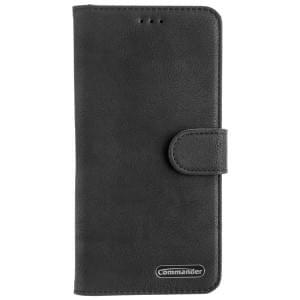 COMMANDER Tasche ELITE BOOK für Samsung Galaxy S10 Schwarz