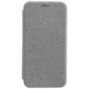 COMMANDER Handytasche CURVE für Samsung Galaxy J4 2018 Suit Elegant Grau