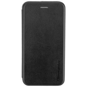 Huawei Mate 20 COMMANDER Tasche Book Case schwarz