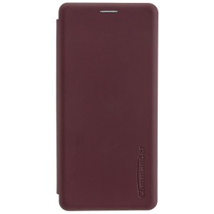 COMMANDER Tasche / Book Case für Huawei P30 Pro Soft Touch Bordeaux