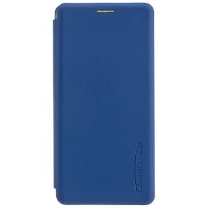 COMMANDER Tasche / Book Case für Huawei P30 Pro Soft Touch Maritim Blau